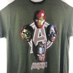 Marvel Avengers Florida Men's Size XL NWOT